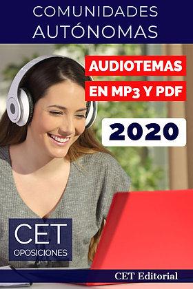 Temario MP3 y PDF Comunidades Autónomas