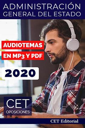 Temario MP3 y PDF Administración Estado
