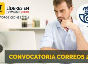 Correos publica las bases de la convocatoria  de 3.421 plazas