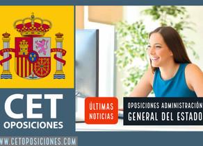 OPOSICIONES ADMINISTRACIÓN GENERAL DEL ESTADO