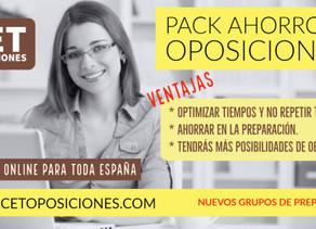 PREPARACIÓN CONJUNTA DE 4 OPOSICIONES.