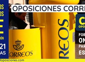 CONVOCATORIA OPOSICIONES CORREOS 2020