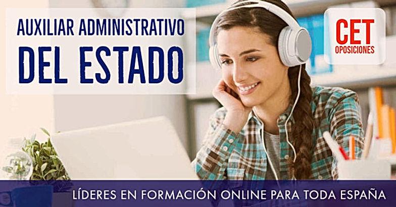 Academias Oposiciones Auxiliar Administrativo del Estado