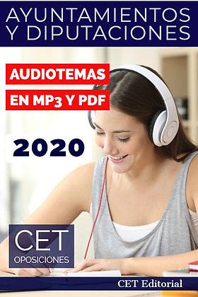 Temario MP3 y PDF Ayuntamientos y Diputaciones