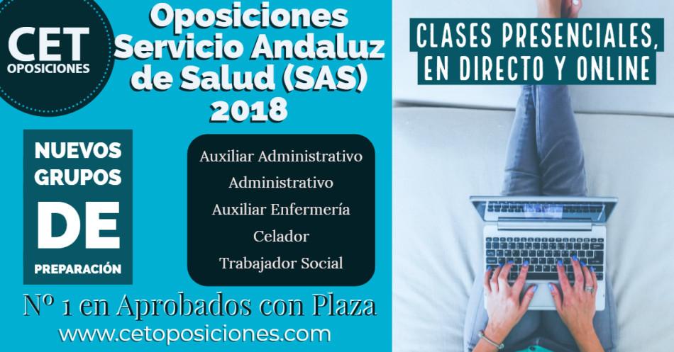 Academias Oposiciones SAS Cadiz Huelva Granada Almería Cordoba Sevilla Malaga Jaen