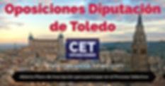 Oposiones Auxiliar Administratio Diputación de Toledo