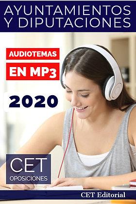 Temario MP3 Ayuntamientos y Diputaciones