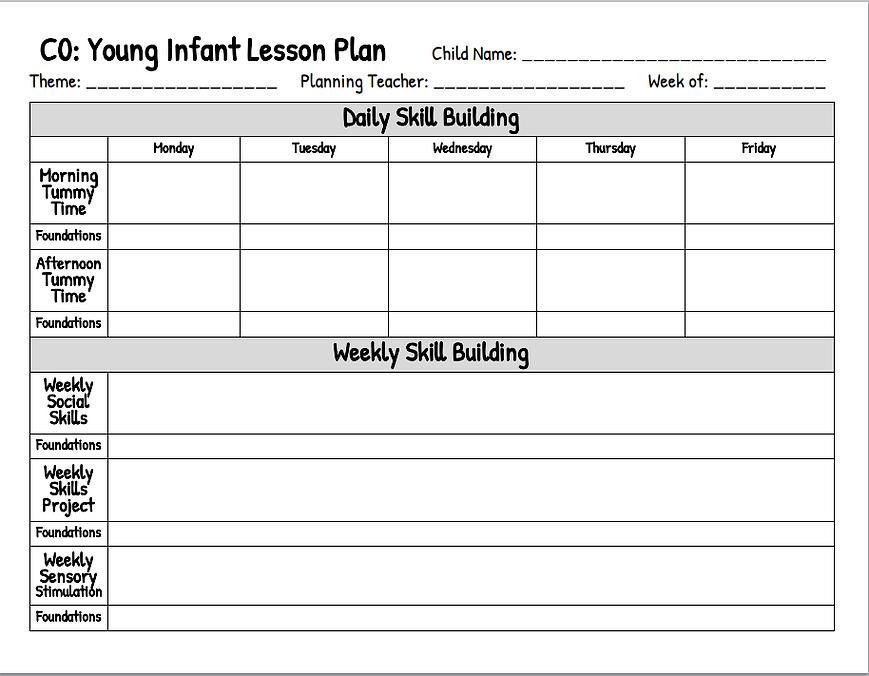 C0 Infant Plan.PNG