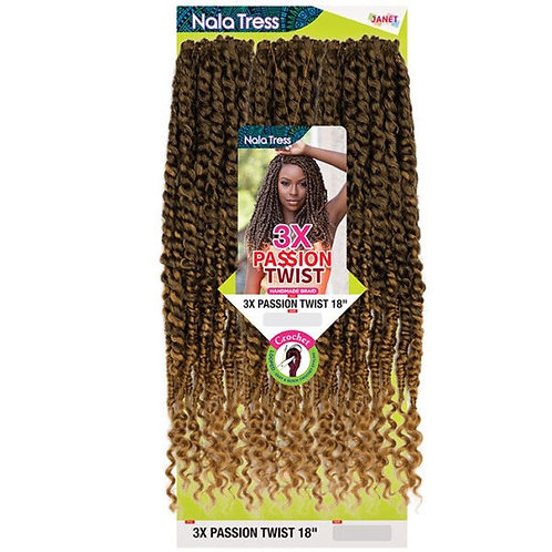 """Janet Collection- Nala Trees 3x Passion Twist 18"""""""