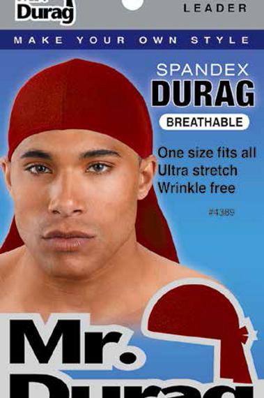 MR.DURAG- SPANDEX DURAG