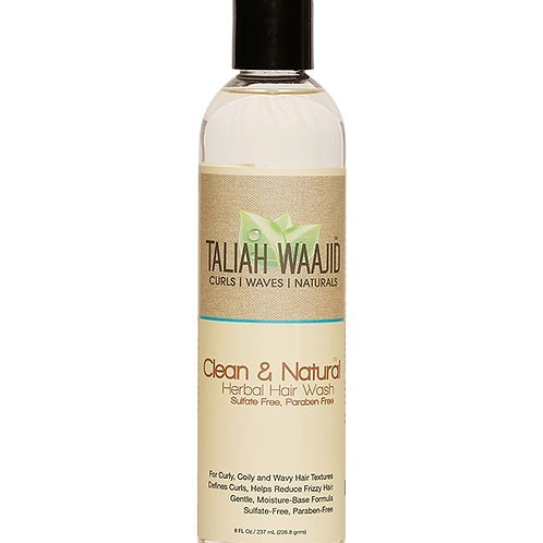 Taliah Waajid Clean and Natural Herbal Hair Wash -