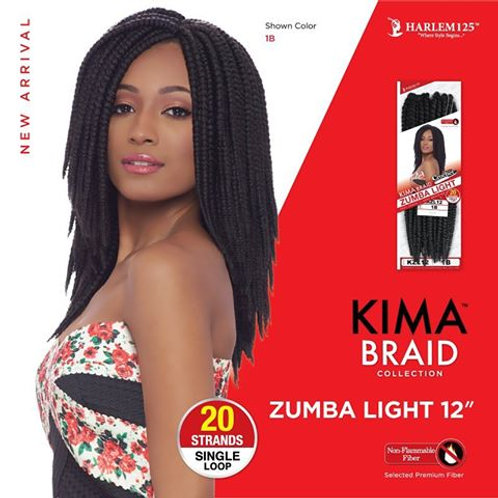 Harlem 125 KIMA BRAID Zumba Light 20 Strands