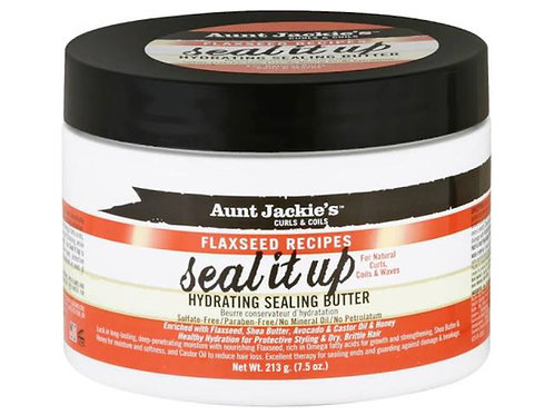 Aunt Jackie's Flaxseed Recipes Seal It Up Hydrating Sealing Butter - 7.5 oz