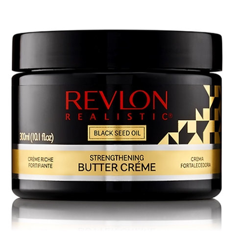 Revlon realistic Black Seed Oil Strengthening BUTTER CRÉME Leave-In Condi 10.1oz