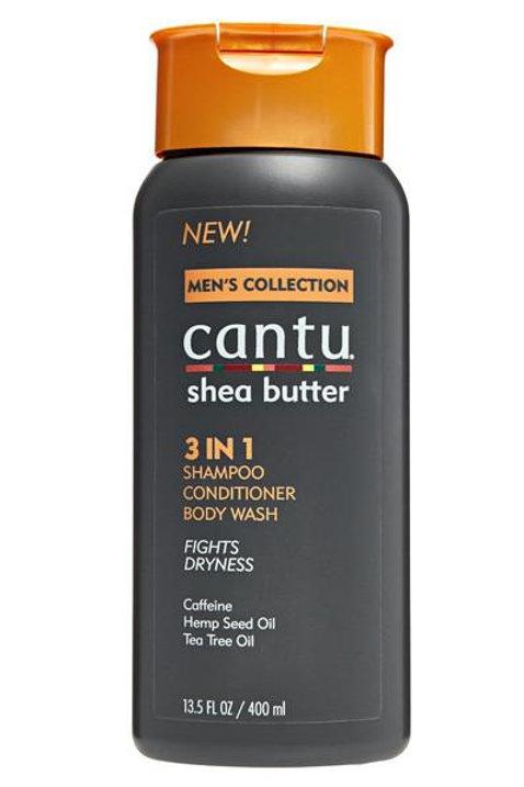 Cantu 3 in 1 Shampoo, Conditioner & Body Wash