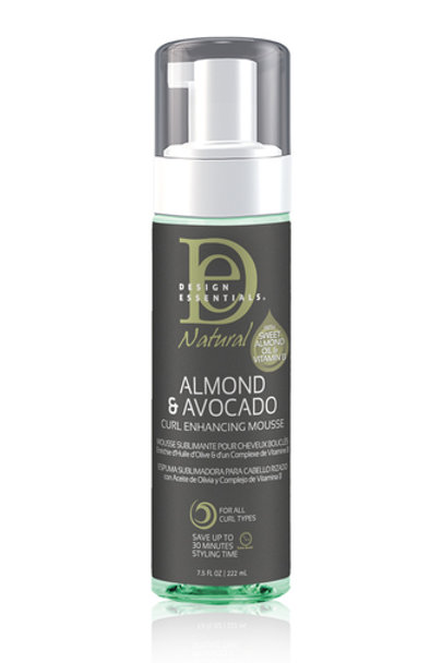 Design Essentials Natural Almond & Avocado Curl Enhancing Mousse