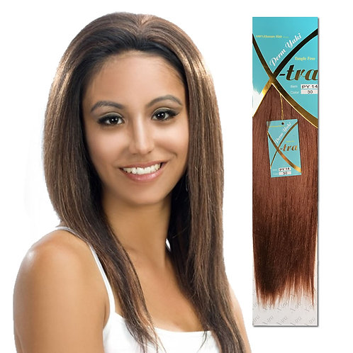 X-tra - Perm Yaki Tangle Free 100% Human Hair Quality