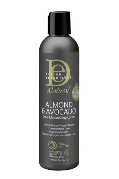 Design EssentialsAlmond & AvocadoNatural Daily Moisturizing Lotion