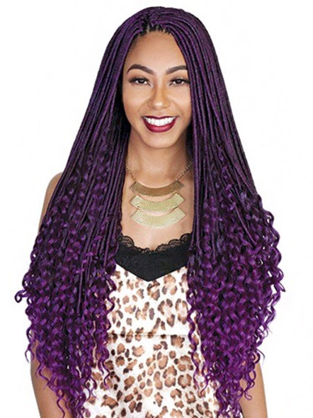 ZURY- ZURYLOC BRAID DEEP CURL 26""