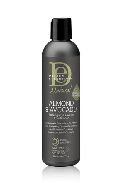 Design Essentials Natural Almond and Avocado Detangling Leave-In Conditioner