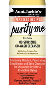 Aunt Jackie's Purify Me Moisturizing Co-Wash Cleanser - 12 oz