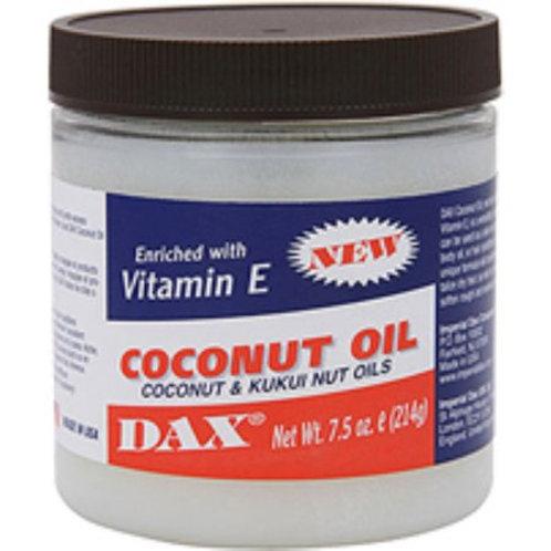 DAX Coconut Oil Enriched with Vitamin E, 7.5oz