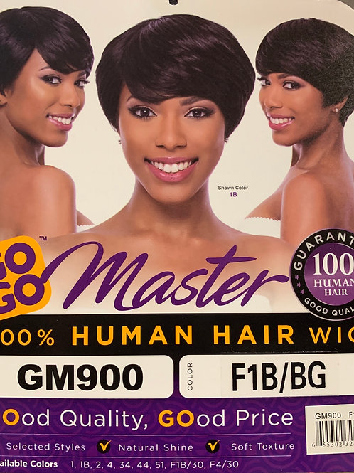 Gigi Master 100% Human Hair Wig GM900