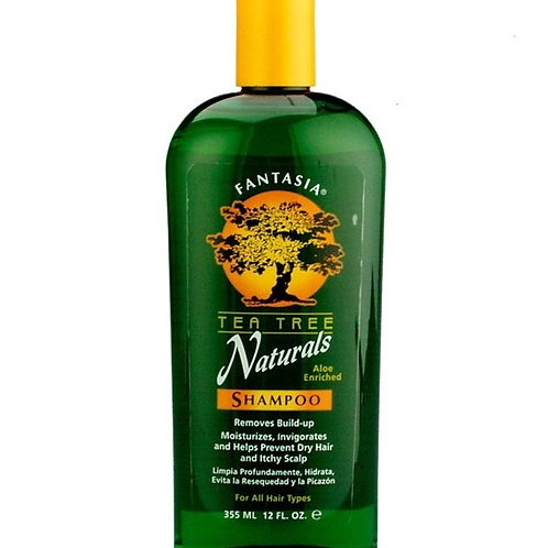 Fantasia Tea Tree Naturals Shampoo 12 oz