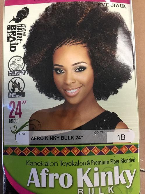 """Afro Kinky Bulk 24"""""""