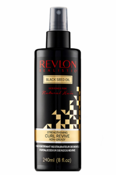 Revlon Realistic Naturally Strong Strengthening Curl Revive Non-Greasy 8oz