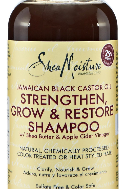 Shea Moisture Strengthen, Grow, Restore Shampoo,