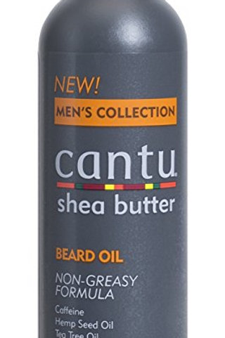 Cantu Shea Butter Men's Collection Beard Oil, 3.4 Fluid Ounce