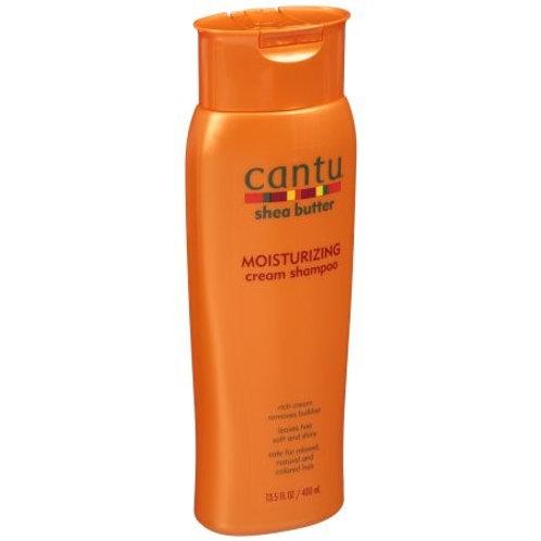 Cantu Shea Butter Moisturizing Cream Shampoo -13.5 oz.