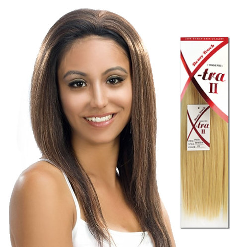 X-tra II - Remy Touch 100% Human Hair Quality