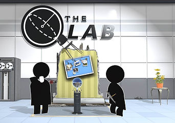 Picture from the VR game the Lab, which you can play at our gaming arcade, development hub and function hire VRoom in Glasgow, Scotland