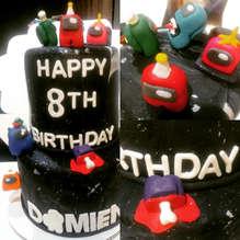 Among Us - birthday cake