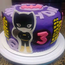 BATGIRL - Birthday cake