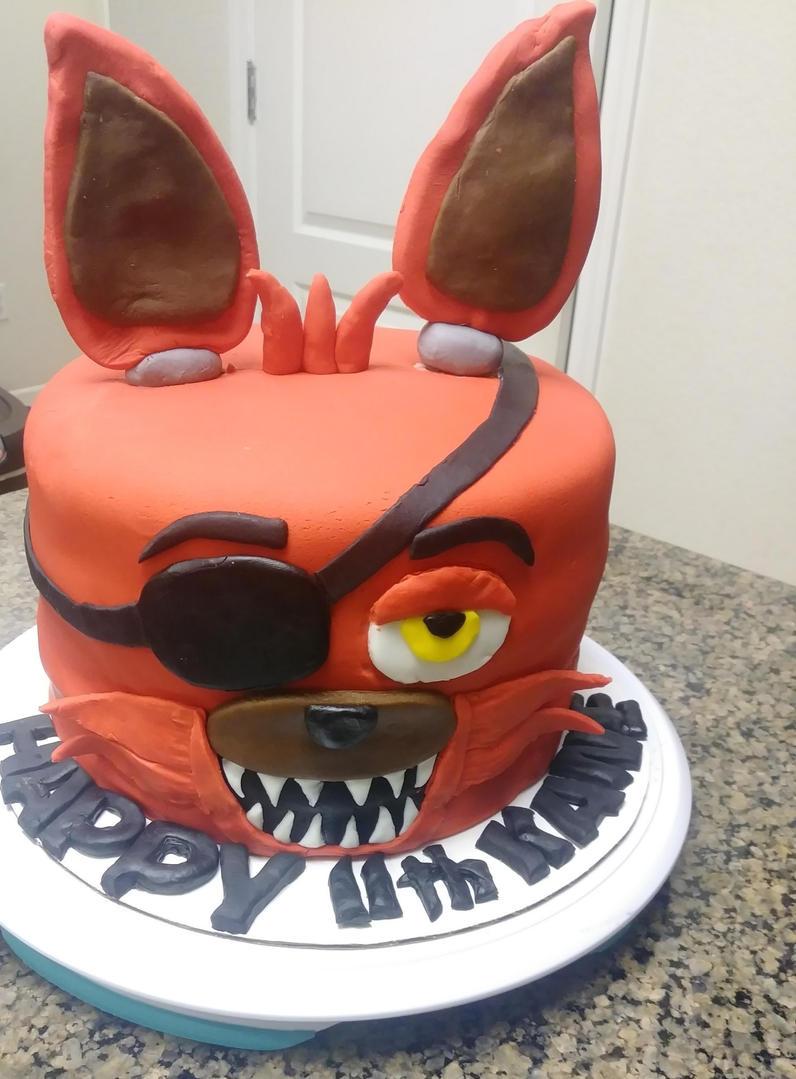 FNAF foxy cake -Birthday cake