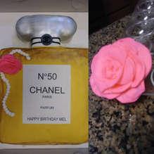 CHANEL CAKE- birthday cake