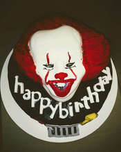 """IT"" CAKE- birthday cake"