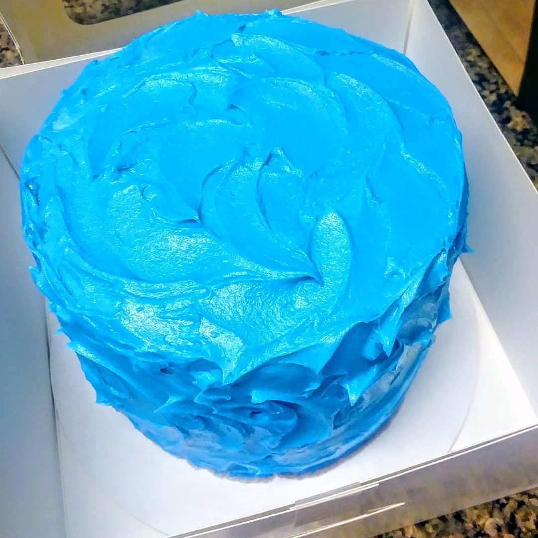 BLUE WATERS- birthday smash cake