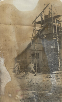 1900: Addition of Fireplace & Porch