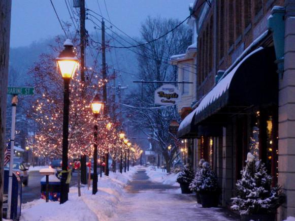 Broad Street in Milford