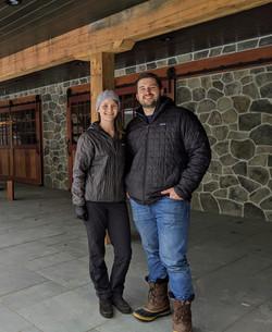 Linnea & Alec w/ Completed Barn