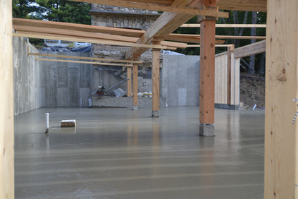 Summer 2019: Pouring the Foundation