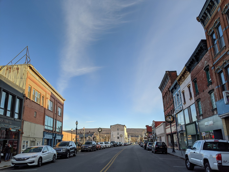 Front Street in Port Jervis