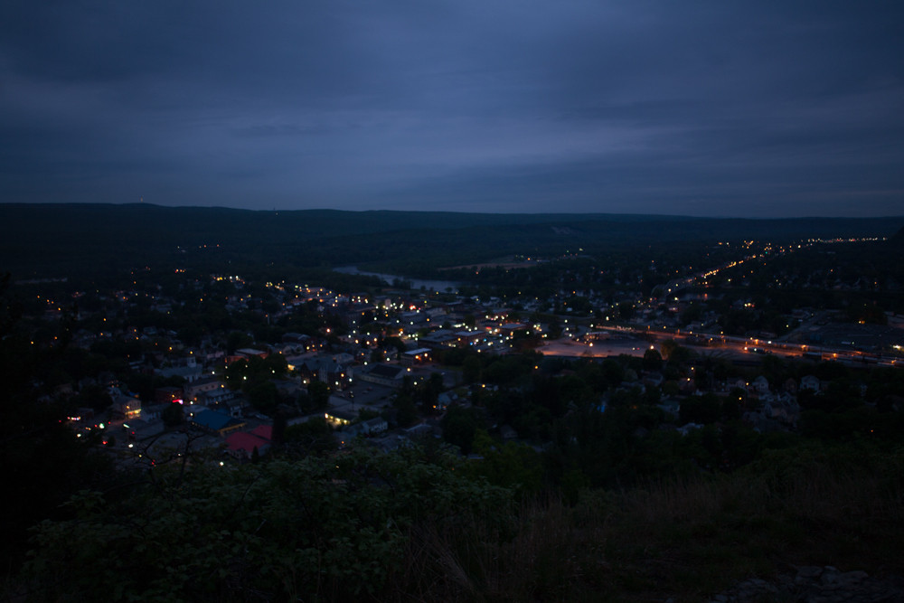Port Jervis from Point Peter