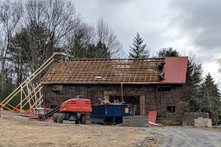 Spring 2019: Dismantling the Old Barn