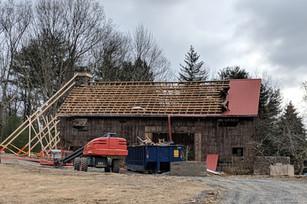 Spring 2019: Dismantling the Old Barn