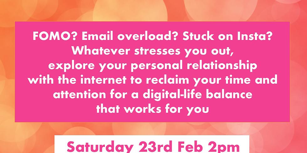 Digital Wellbeing workshop